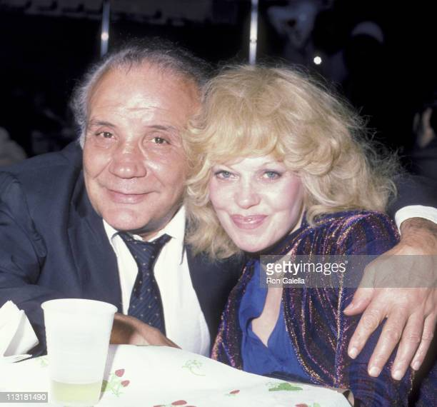 Athlete Jake LaMotta and Debbie LaMotta attend March of Dimes Benefit Honoring Master Chef Craig Claiborne on June 5 1984 at Tavern on the Green in...