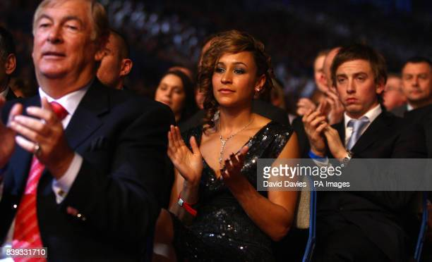 Athlete Jessica Ennis in the audience during the BBC Sports Personality of the Year Awards at the Sheffield Arena, Sheffield .