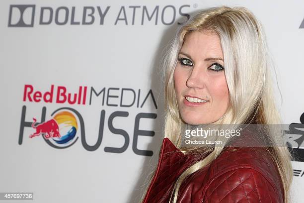 Athlete Jolene Van Vugt arrives at the On Any Sunday The Next Chapter a film from Red Bull Media House premiere at Dolby Theatre on October 22 2014...