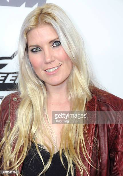 Athlete Jolene Van Vugt attends the Los Angeles Premiere of Red Bull Media House's 'On Any Sunday The Next Chapter' at Dolby Theatre on October 22...