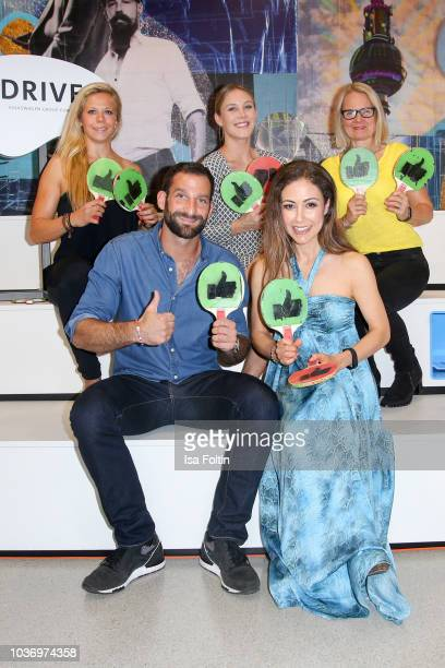 MMA athlete Julia Dorny German actor Matthias Weidenhoefer German presenter Alina Merkau German presenter Anastasia Zampounidis and Elke Heitmueller...