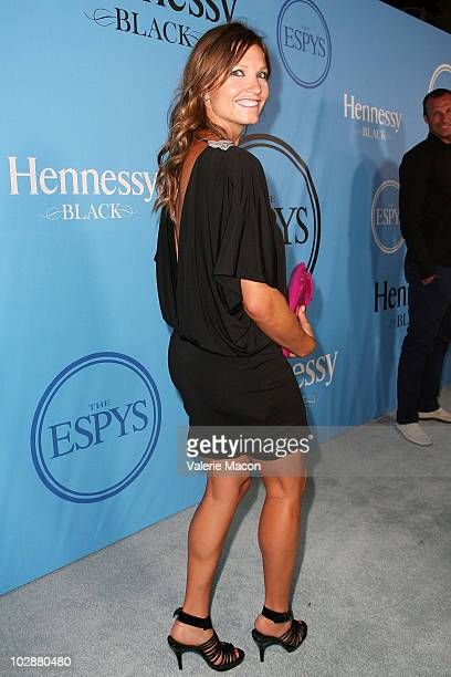 Athlete Julia Mancuso arrives at the Fat Tuesday PreESPYs Party at Boulevard3 on July 13 2010 in Hollywood California