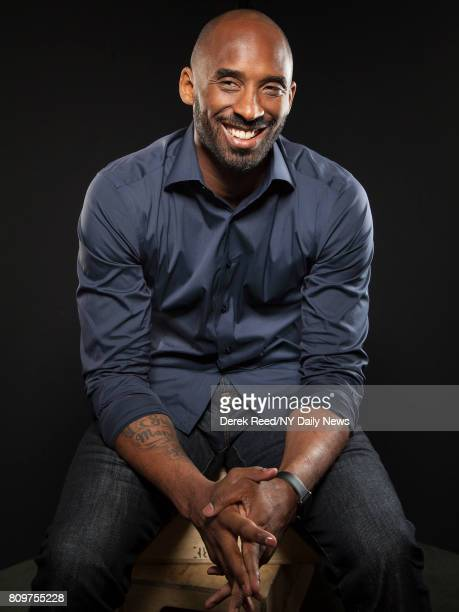Athlete Kobe Bryant photographed for NY Daily News on April 22 in New York City