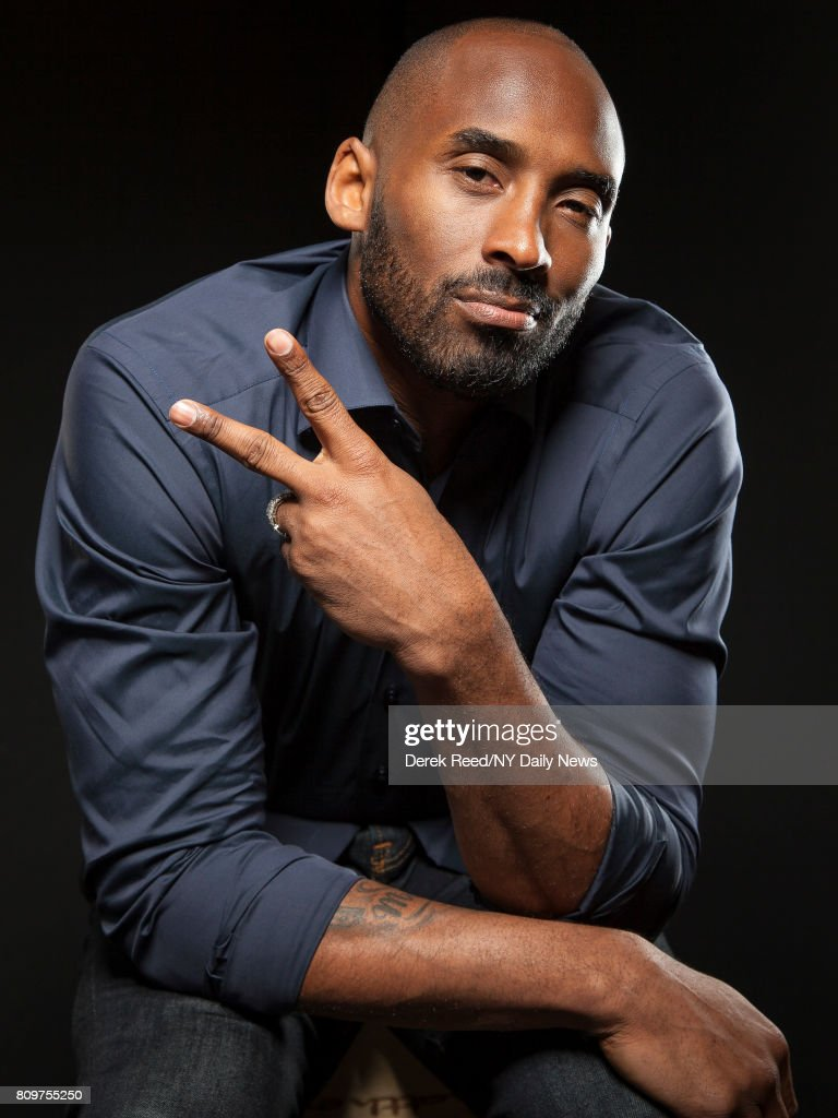 Athlete Kobe Bryant photographed for NY Daily News on April 22, 2017, in New York City.