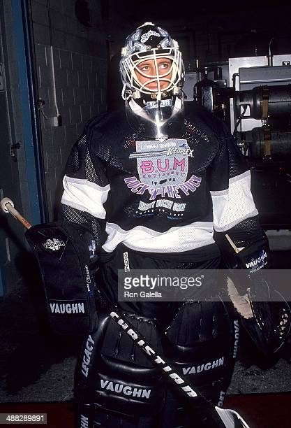 Athlete Manon Rheaume attends the Second Annual Upper DeckLuc RobitailleKLOS Rock 'n Puck Celebrity Hockey Game to Benefit the TJ Martell Foundation...