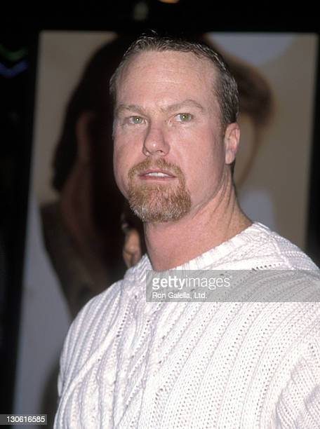 Athlete Mark McGwire attends the 'Patch Adams' Century City Premiere on December 17 1998 at Cineplex Odeon Century Plaza Cinemas in Century City...