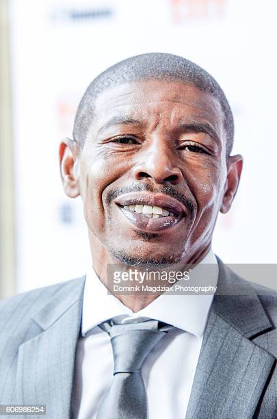 Athlete Muggsy Bogues attends the 'Giants of Africa' premiere during the 2016 Toronto International Film Festival at Ryerson Theatre on September 16...