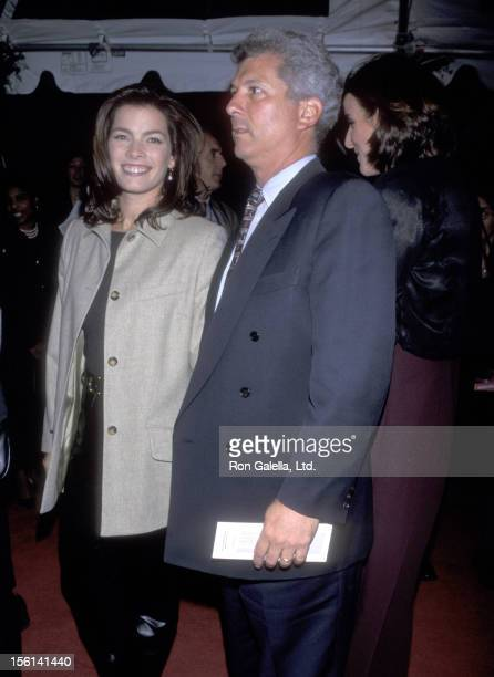 Athlete Nancy Kerrigan and husband Jerry Solomon attend the 25th Anniversary Celebration of People Magazine on October 14 1999 at Madison Square...