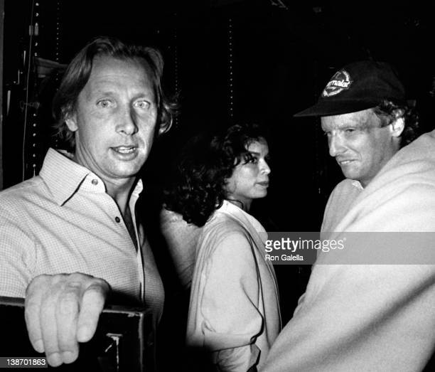 Athlete Nicky Lauder and Bianca Jagger sighted on October 1 1978 at Studio 54 in New York City