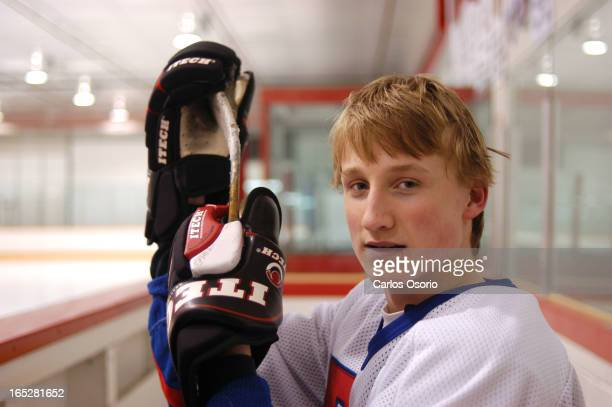 Athlete of the Week Markham Ontario Steven Stamkos Brother Andre high School in Markham Top scorer for team that lost just one of six games in Father...