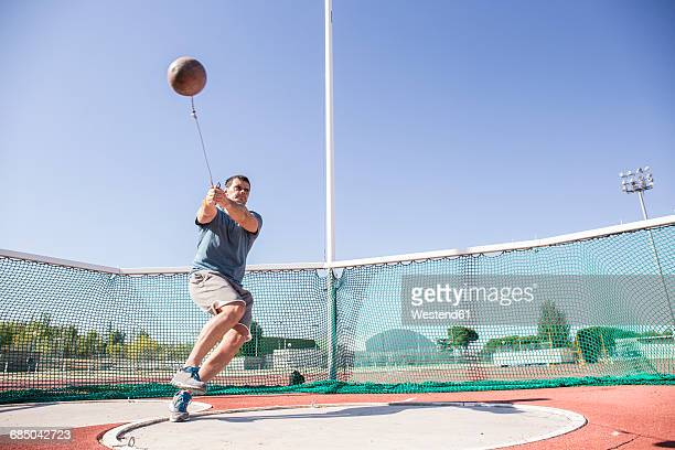 Hammer Throw Stock Photos and Pictures | Getty Images