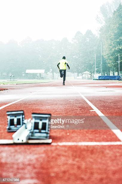 Athlete Starting Run