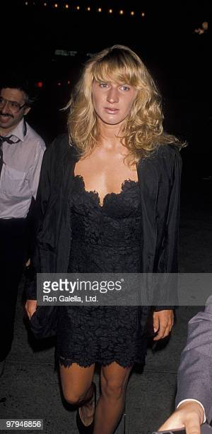 Athlete Steffi Graf attends Women's International Tennis Association Awards Benefit for March of Dimes on August 27, 1990 at the Plaza Hotel in New...