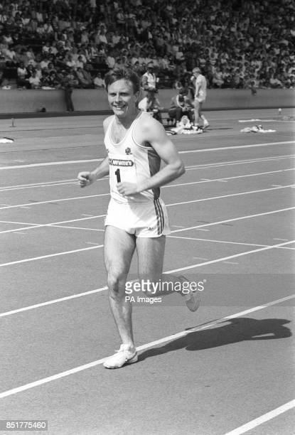 Athlete Todd Bennett of Romsey who has been picked to represent England at 200 metres and 4x400 metres relay in the 1986 Commonwealth Games in...