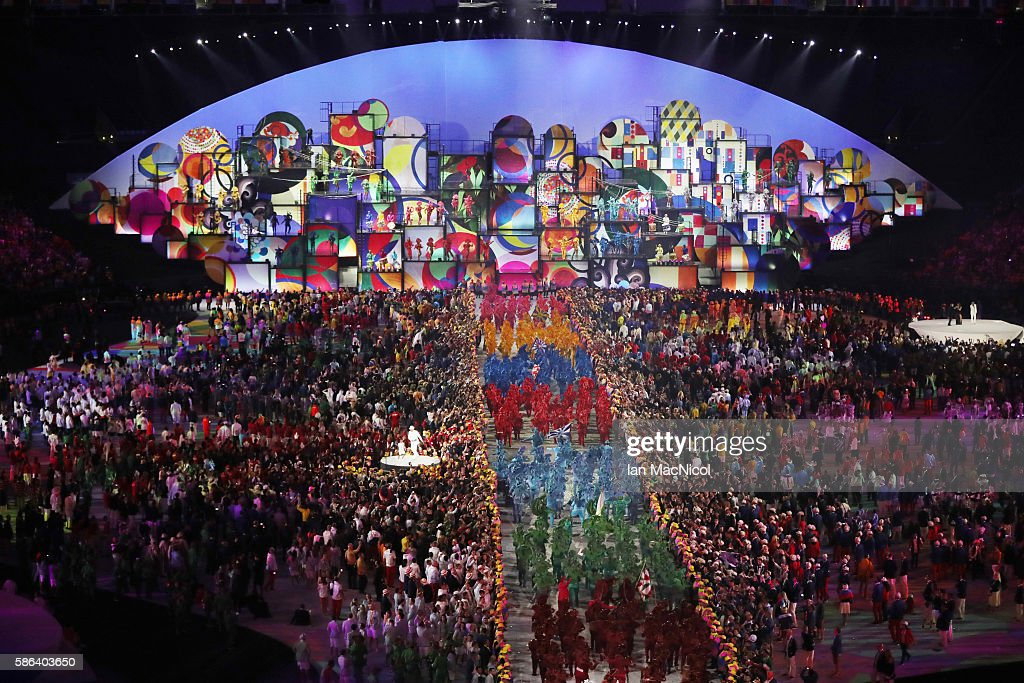 Opening Ceremony 2016 Olympic Games - Olympics: Day 0 : News Photo