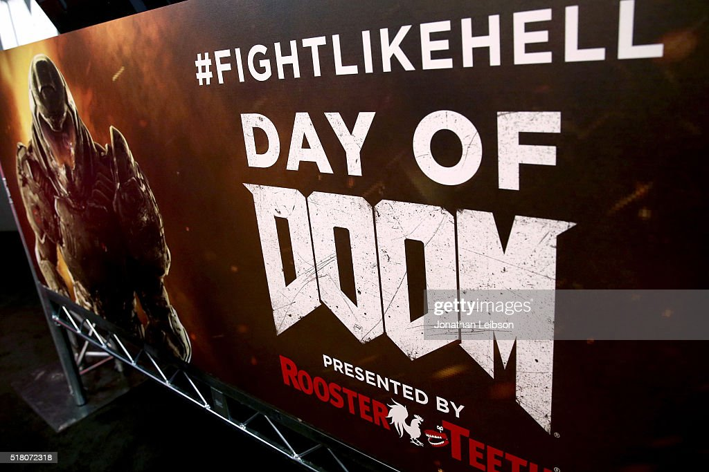 Athletes and YouTube stars team for DOOM Videogame