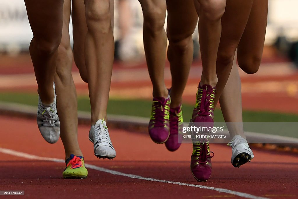 ATHLETICS-RUS-SPORTS-OLY-2016-RUSSIA-DOPING : News Photo