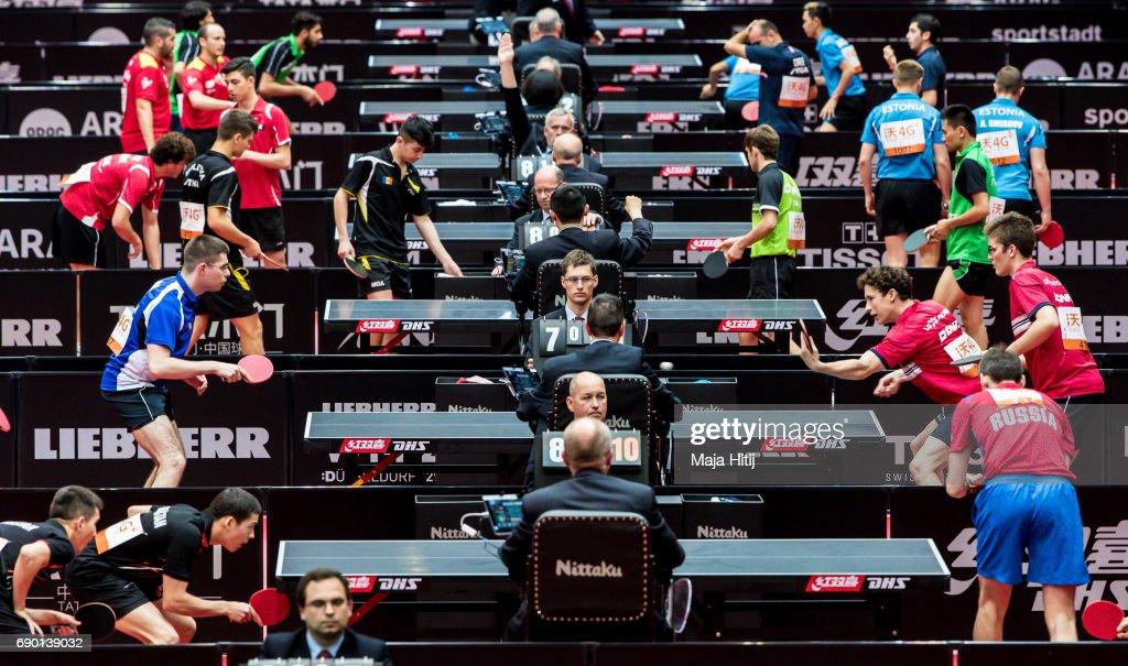 Table Tennis World Championship - Day 2 : News Photo