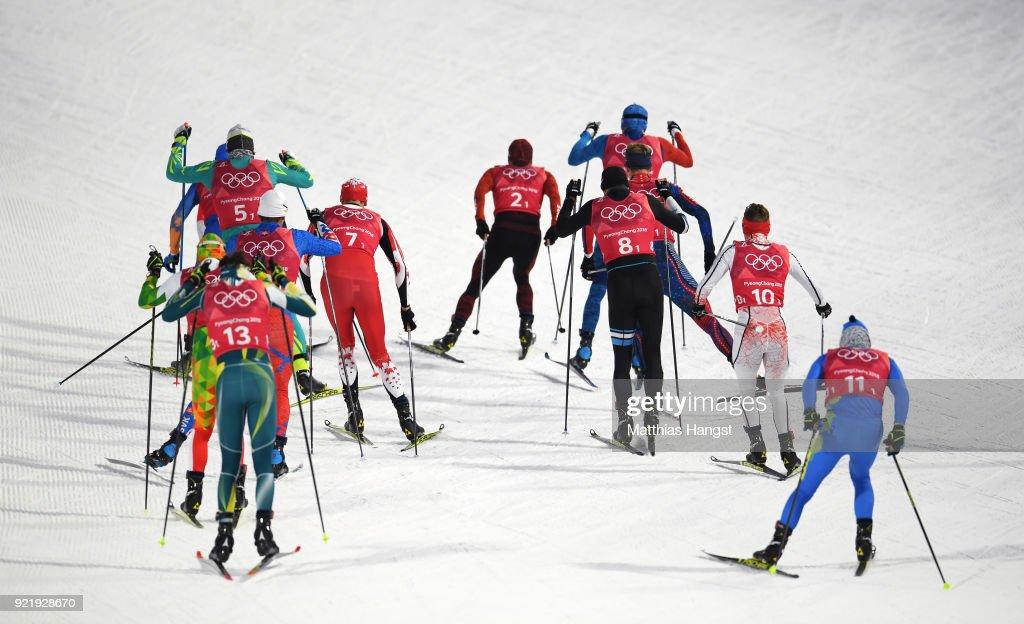 Cross-Country Skiing - Winter Olympics Day 12 : News Photo