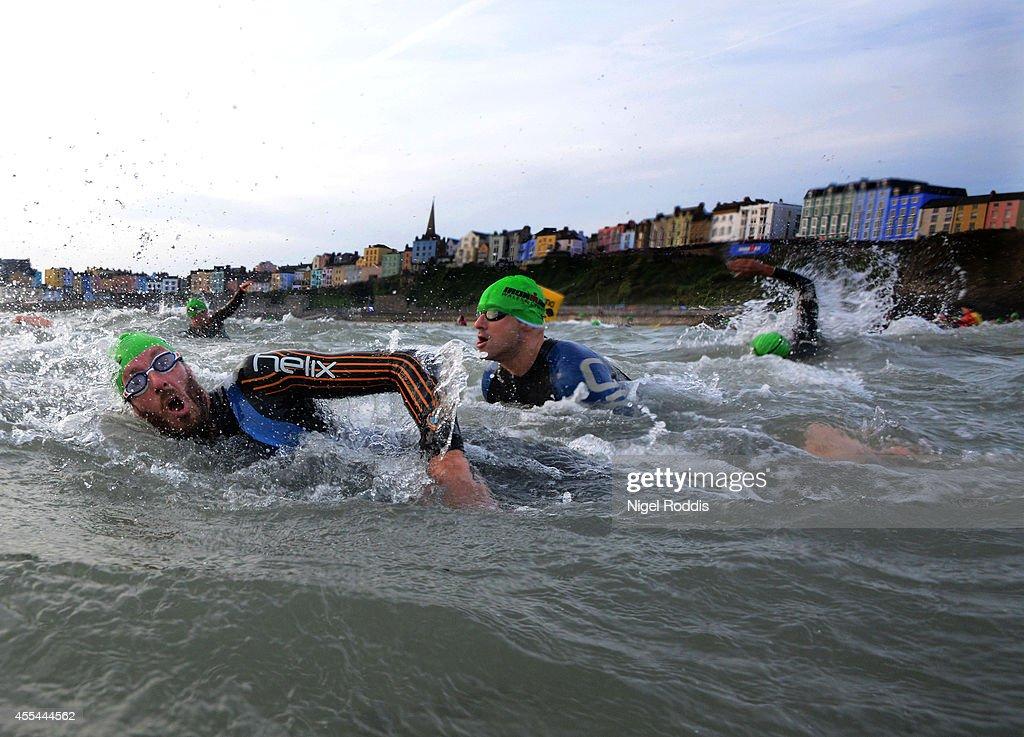 Ironman Wales : News Photo