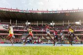 nairobi kenya athletes compete boys 3000m