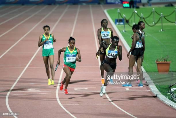 アフリカ陸上競技選手権大会 画...