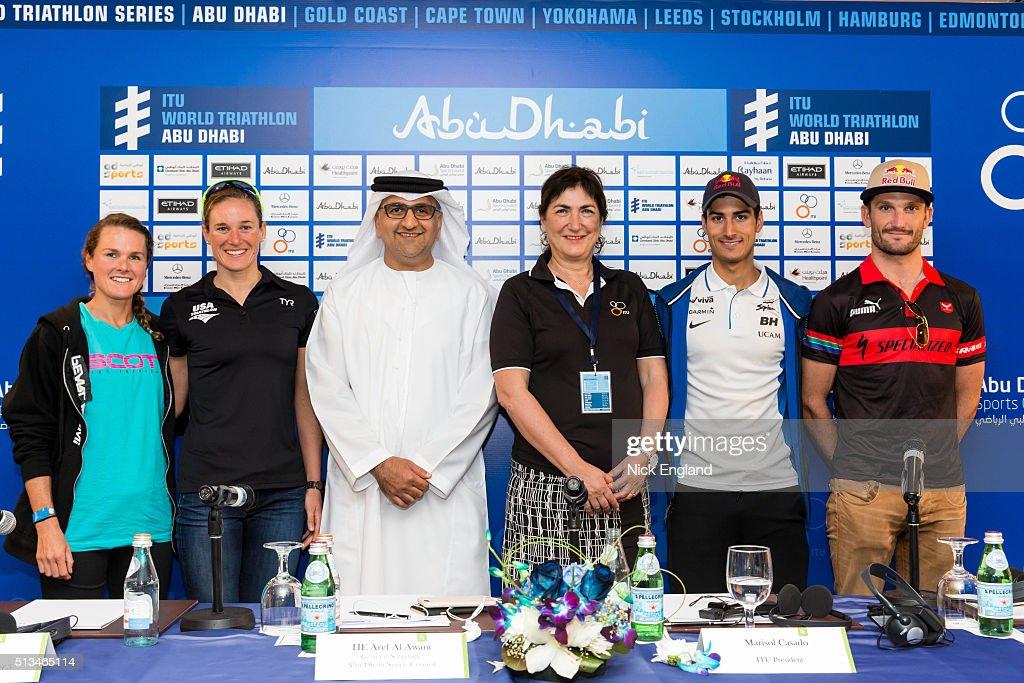 ITU World Triathlon Abu Dhabi Press Conference