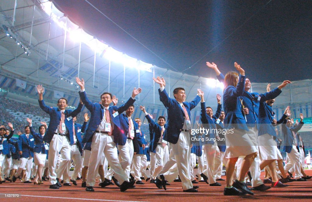 Opening Ceremonies Begin For 14th Asian Games : News Photo