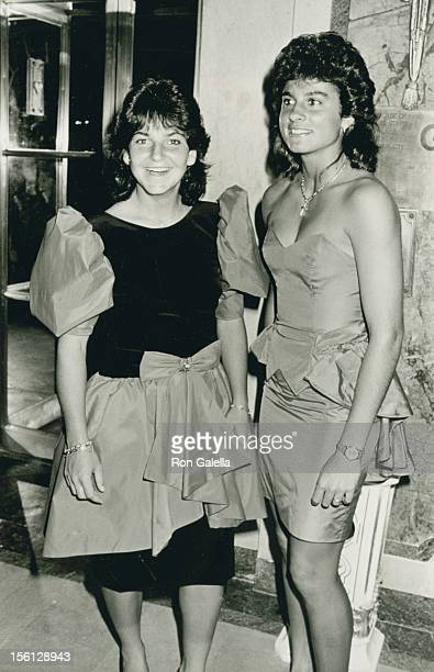 Athletes Gabriela Sabatini and Arantxa Sanchez Vicario attend 13th Annual Women's Tennis Association Awards Banquet on August 28 1989 at the Plaza...