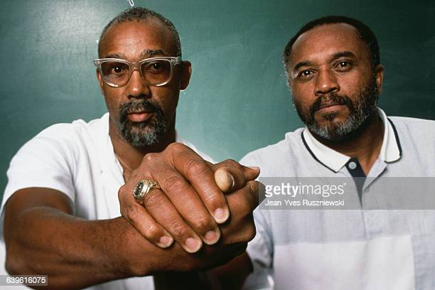 Athletes John Carlos and Tommie Smith were banned from the US team and the Olympic Village after holding up their fists in the Black Power salute...