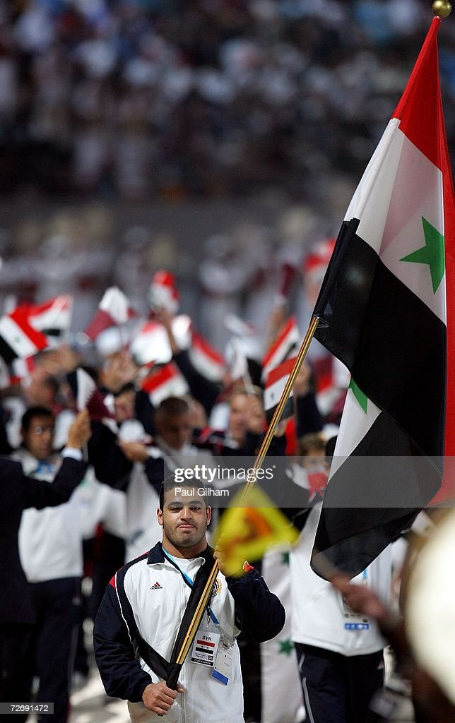 15th Asian Games Doha 2006 - Opening Ceremony : News Photo