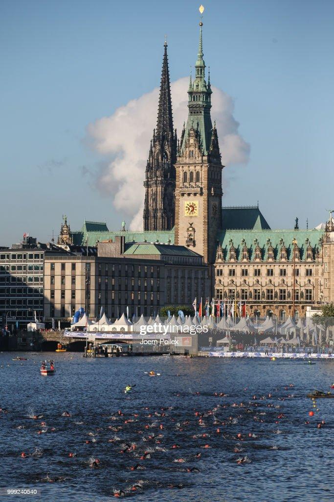 ITU World Triathlon Hamburg Day Two