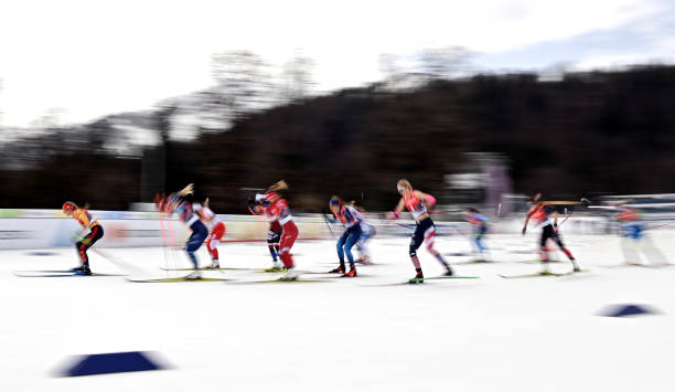 DEU: FIS Nordic World Ski Championships Oberstdorf - Women's Cross Country 4x5 km Relay