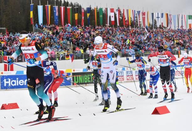 AUT: FIS Nordic World Ski Championships - Men's Cross Country Relay