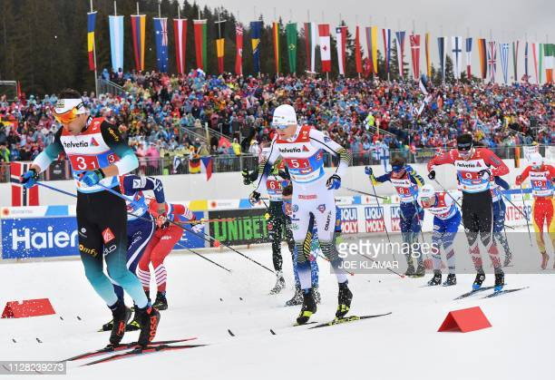 AUT: FIS Nordic World Ski Championships - Men's Cross Country Relay