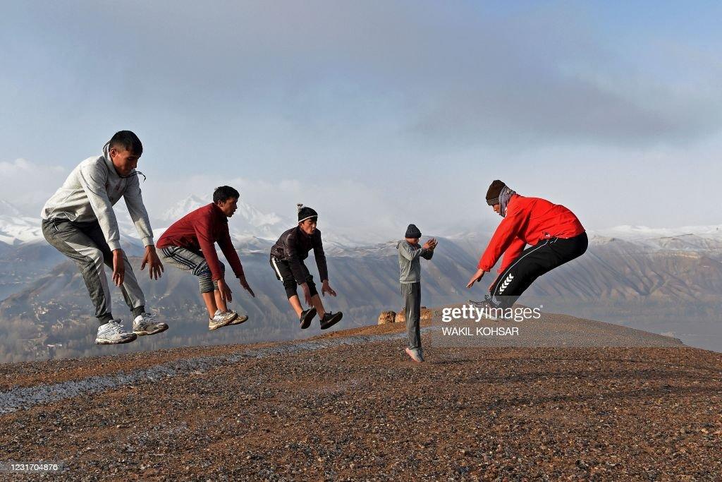 TOPSHOT-AFGHANISTAN-SPORTS : Foto di attualità