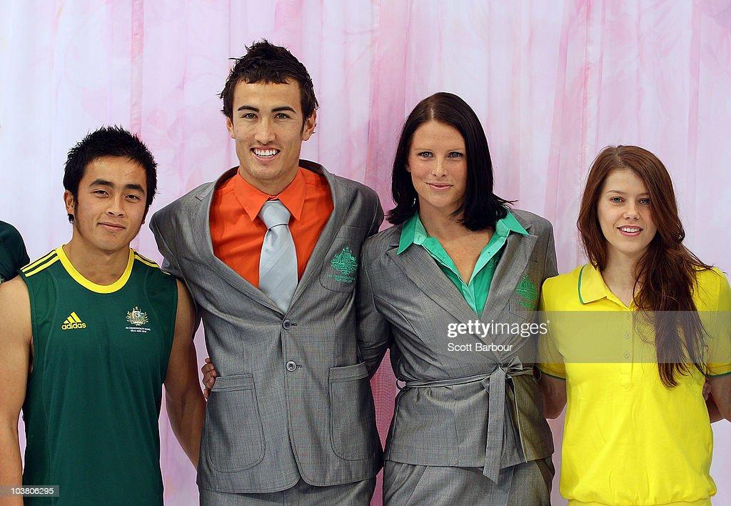 Australian Commonwealth Games Uniform Unveiled