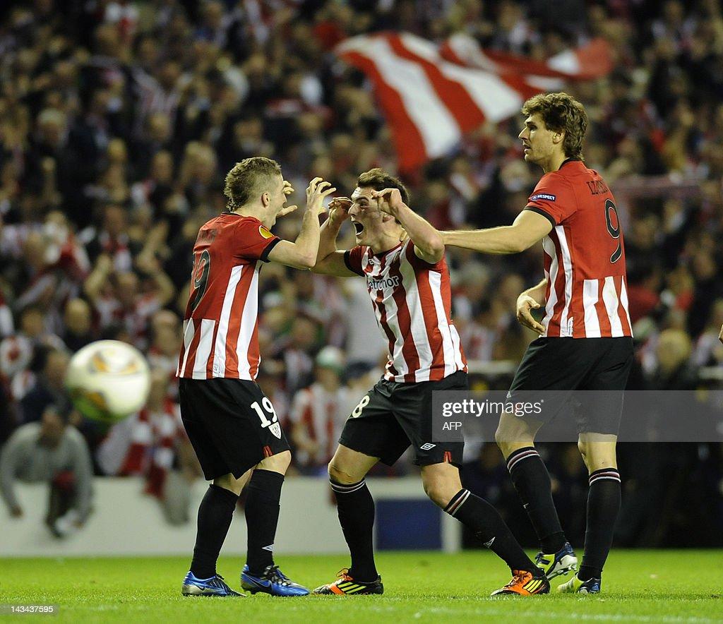 Athletic Bilbao's midfielder Ibai Gomez  : News Photo
