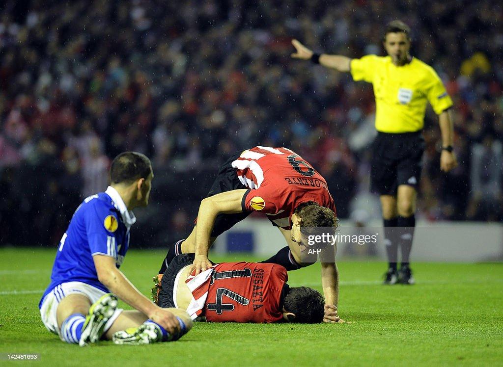 Athletic Bilbao's midfielder Markel Susa : News Photo