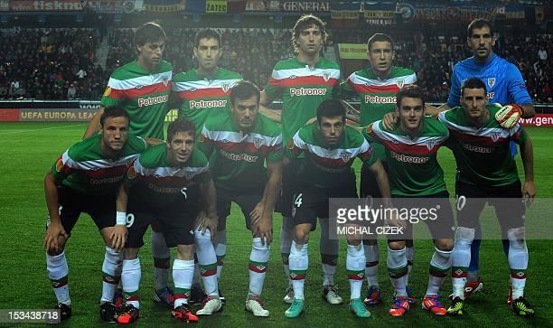 Athletic Club football team Captain Carlos Gurpegui Iker Munian Xabier Castillo Markel Susaeta Ibai Gomez Aritz Aduriz Ander Iturraspe Andoni Iraola...
