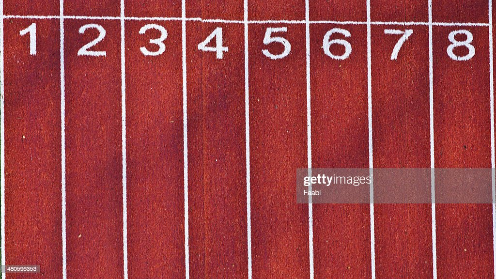 Athletic Track : Stock Photo