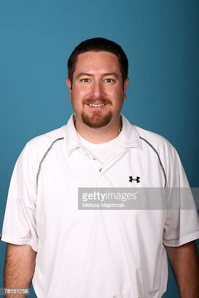 Athletic trainer Mark Shires of the Albuquerque Thunderbirds poses for a portrait during DLeague media day on November 13 2007 at the Open Court in...