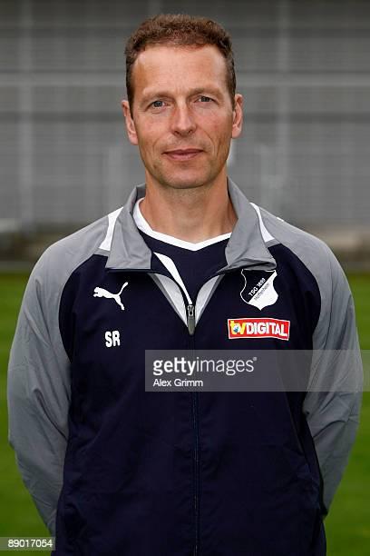Athleticism coach Rainer Schrey poses during the 1st Bundesliga team presentation of 1899 Hoffenheim on July 14 2009 in Hoffenheim Germany
