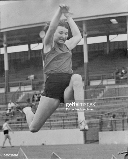 Athletics at Sydney Athletic FieldHelen Frith competes in the A grade long jumpHelen Firth competes in the A grade long jump at Sydney Athletic Field...