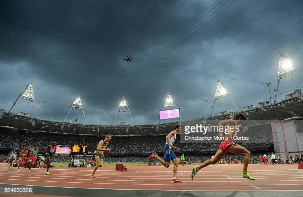 Men's 800m SemiFinals Athletics Day 11 Athletics at the Olympic Stadium during the 2012 London Olympic Games