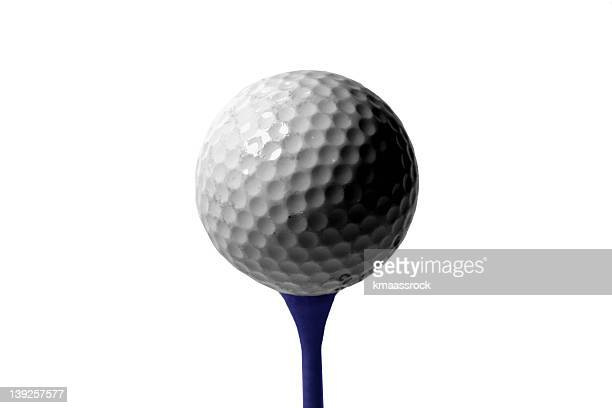 athletics - ball and tee - stick stock photos and pictures