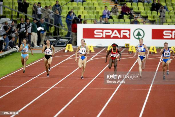 Europe Champ 2002 Munchen Bikar Alenka Sidibi Odiah Oyepitan Abiodun Paschke Melanie Alozie Glory Levorato Manuela Gevaert Kim Thanou Ekaterini...