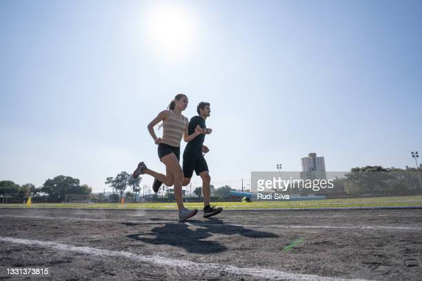 athletics racing sport - partially sighted stock pictures, royalty-free photos & images