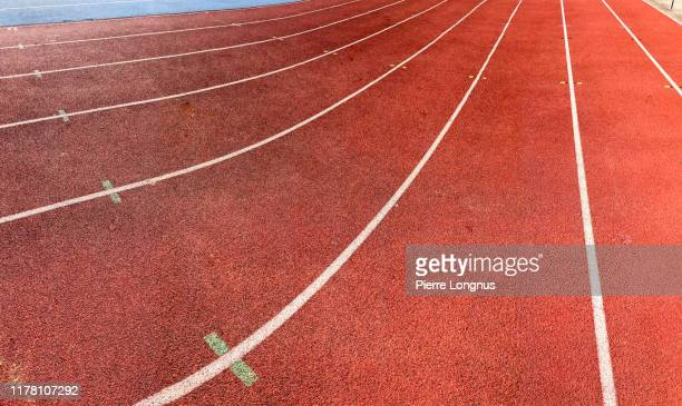 athletics track, close up - sport stock pictures, royalty-free photos & images