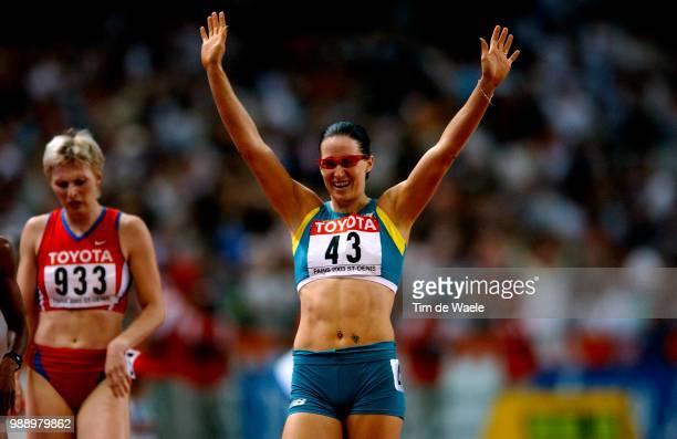 World Championships 2003, Parispechonkina Yuliya , Pittman Jana , Finale Final 400 M Haies Hurdles Femmes Women, 9Iã¨Me Championat Du Monde...